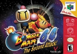 Bomberman 64 The Second Attack - N64 Game