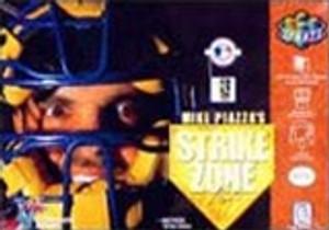 Mike Piazza's StrikeZone - N64 Game