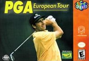PGA European Tour 64 - N64 Game