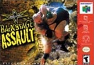 WCW Backstage Assault - N64 Game
