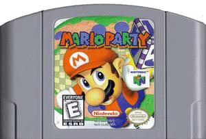 Mario Party Nintendo 64 N64 video game cartridge image pic