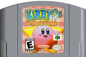 Kirby 64 The Crystal Shards Nintendo 64 N64 video game cartridge image pic