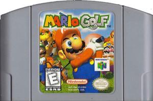 Mario Golf Nintendo 64 N64 game cartridge image pic