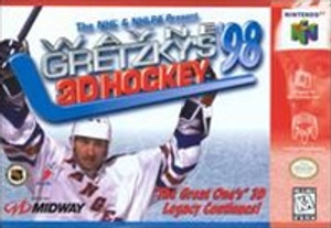Wayne Gretzky's 3D Hockey '98 - N64 Game
