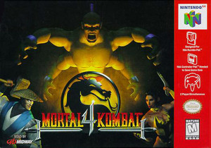 Mortal Kombat 4 - N64 Game