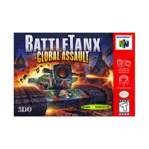 Battletanx Global Assault Video Game For Nintendo N64