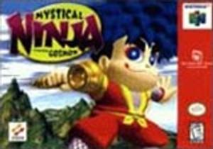 Mystical Ninja - N64 Game