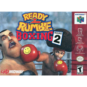 Ready 2 Rumble Round 2 Video Game For Nintendo N64