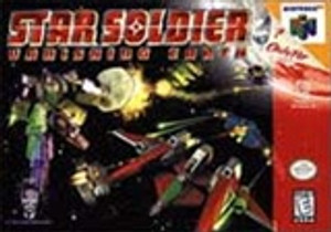 Star Soldier Vanishing Earth - N64 Game