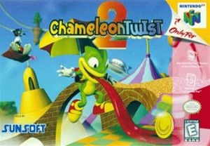 Chameleon Twist 2 - N64 Game