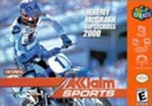 Jeremy Mcgrath Supercross 2000 - N64 Game