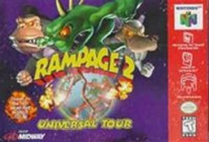 Rampage 2 Universal Tour - N64 Game