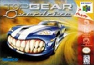 Topgear Overdrive - N64 Game