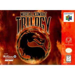 Mortal Kombat Trilogy Video Game For Nintendo N64