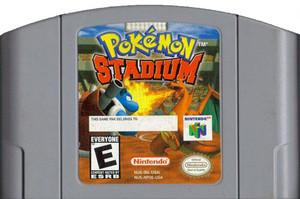 Pokemon Stadium Nintendo 64 N64 video game cartridge image pic