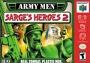 Army Men Sarge's Heroes 2 - N64 Game