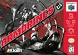 Armorines Project SWARM - N64 Game