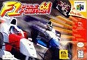 F-1 Pole Position 64 - N64 Game