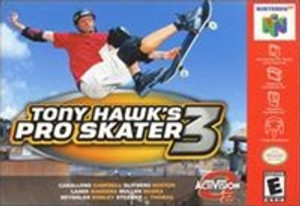 Tony Hawk's Pro Skater 3 - N64 Game