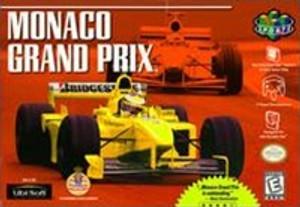 Monaco Grand Prix - N64 Game