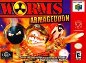 Worms Armageddon - N64 Game