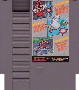 Super Mario/Duck Hunt/Track Meet - NES Cartridge without Nintendo Seal