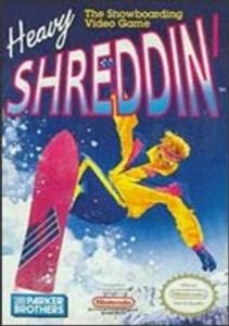 Heavy Shreddin' Snowbarding - NES Game