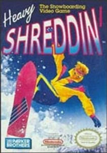 Heavy Shreddin' Snowbarding - NES Game