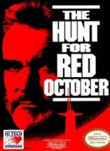 Hunt for Red October, The - NES Game