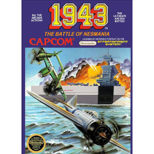 1943 The Battle of Midway Video Game For Nintendo NES
