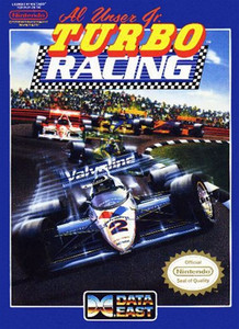 Al Unser Jr. Turbo Racing - NES Game