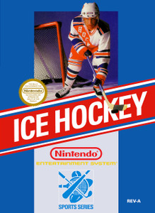 Ice Hockey Nintendo NES game box image pic