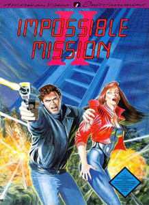 Impossible Mission II (2) - American Video Entertainment NES Game