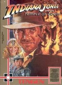 Indiana Jones:Temple of Doom (Tengen) - NES Game