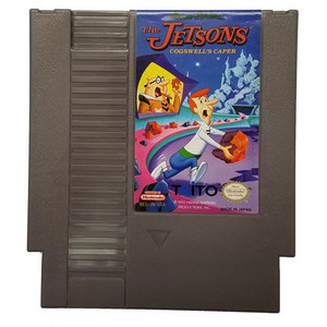 Jetsons, The: Cogswell's Caper - NES Game Cartridge