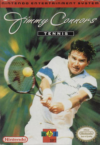 Jimmy Connors Tennis (UBI Soft) - NES Game