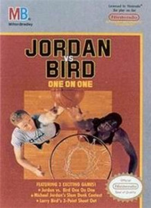 Jordan Vs. Bird One on One Basketball - NES Game