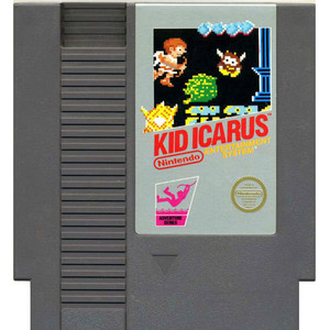Kid Icarus NES game cartridge image pic