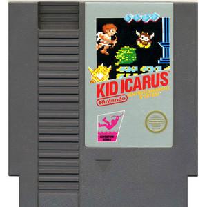 Kid Icarus NES game cartridge image pic