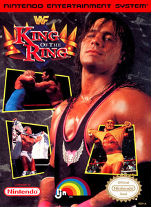 WWF King of The Ring Wrestling - NES Game