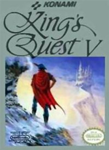 King's Quest V - NES Game