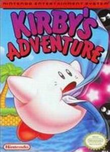 Kirby's Adventure Nintendo NES Game box image pic