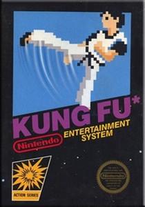 Kung Fu Nintendo NES game box image pic