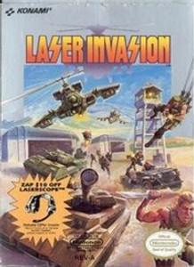 Laser Invasion - NES Game