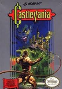 Castlevania Nintendo NES game box image pic