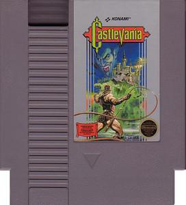 Castlevania Nintendo NES game cartridge image pic