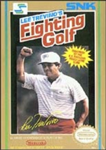Lee Trevino's Fighting Golf - NES Game