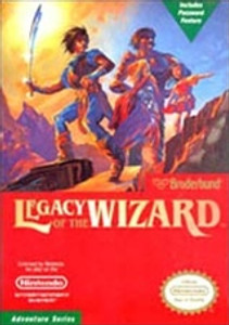 Legacy of The Wizard - NES Game