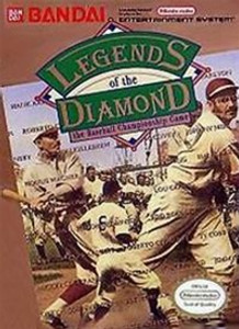 Legends of The Diamond Baseball - NES Game
