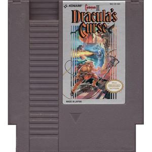Castlevania III Dracula's Curse - NES Game cart